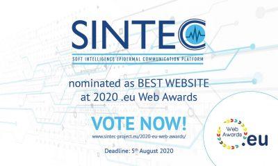 SINTEC at 2020 eu web awards