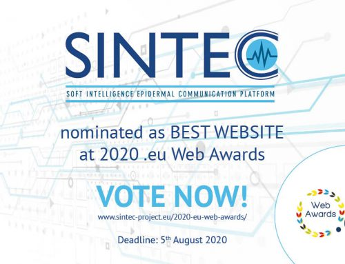 SINTEC nominated at the 2020 .eu Web Awards