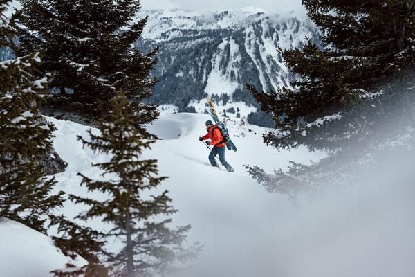 Man on the Snow Sintec Project