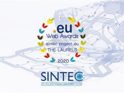 Sintec winner of the 2020 .eu web awards