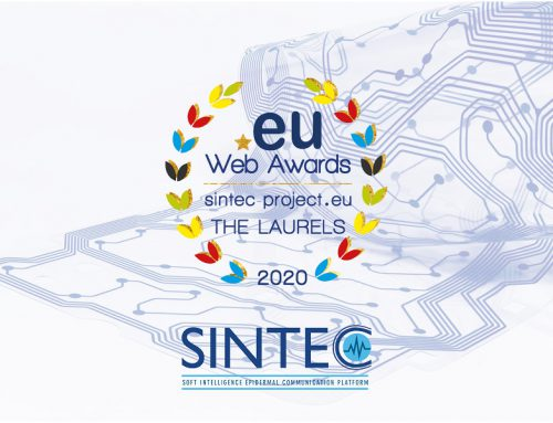 SINTEC project: best project website at the 2020 .eu web awards!