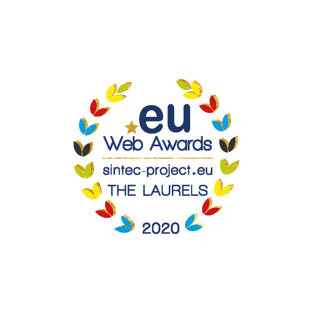 logo EU web Awards sintec-project.eu THE LAURELS 2020